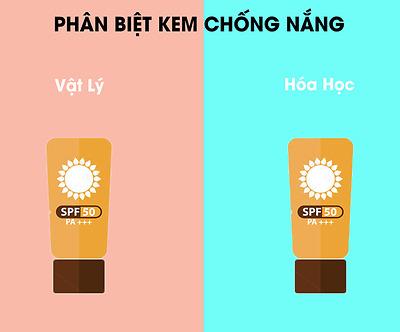 Cách phân biệt kem chống nắng vật lý và hóa học