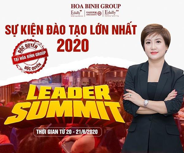 Leader Summit 2020 – Giải pháp bứt phá doanh thu sau đại dịch Covid-19