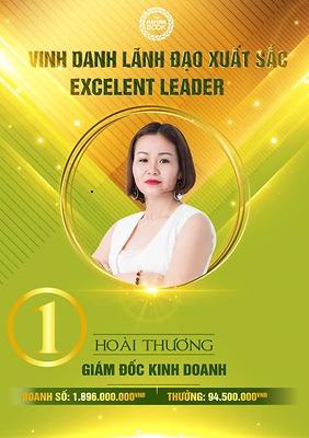 Vinh danh lãnh đạo xuất sắc nhất